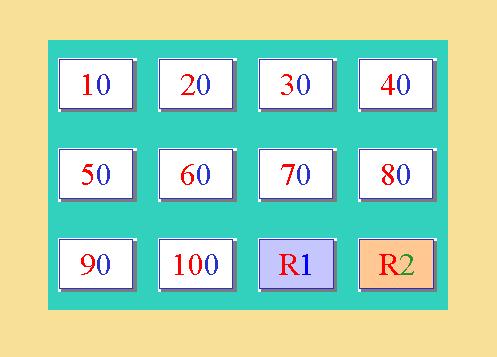 El jardín de la clase: Números del 0 al 100