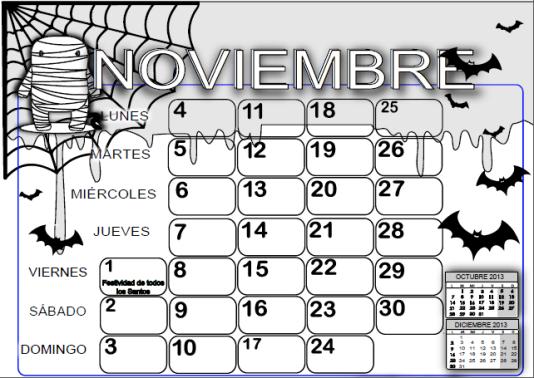 noviembre | 1º de EP Colegio Vedruna FEC Pamplona